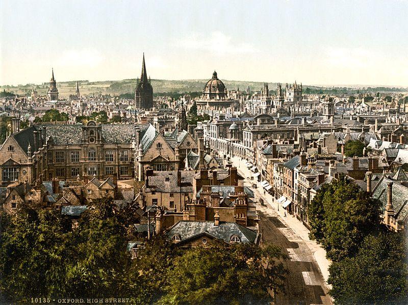 800px-High_Street-_Oxford-_England-_1890s